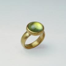750 Sattgold, Prehnit